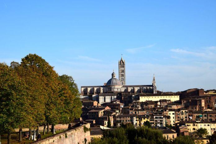 cathédrale de Sienne depuis la forteresse