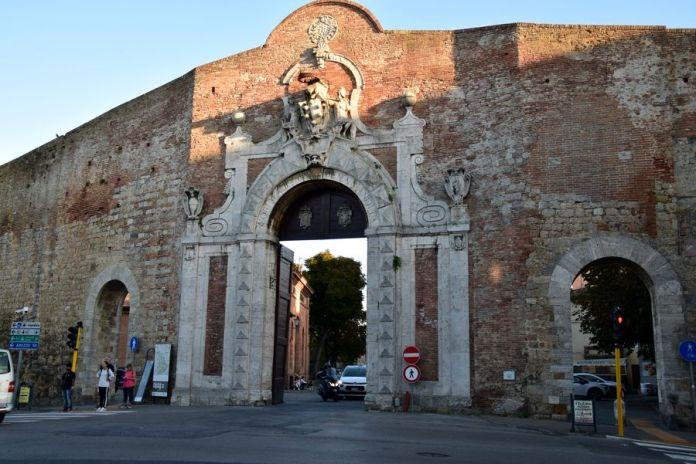 porte des fortification de Sienne