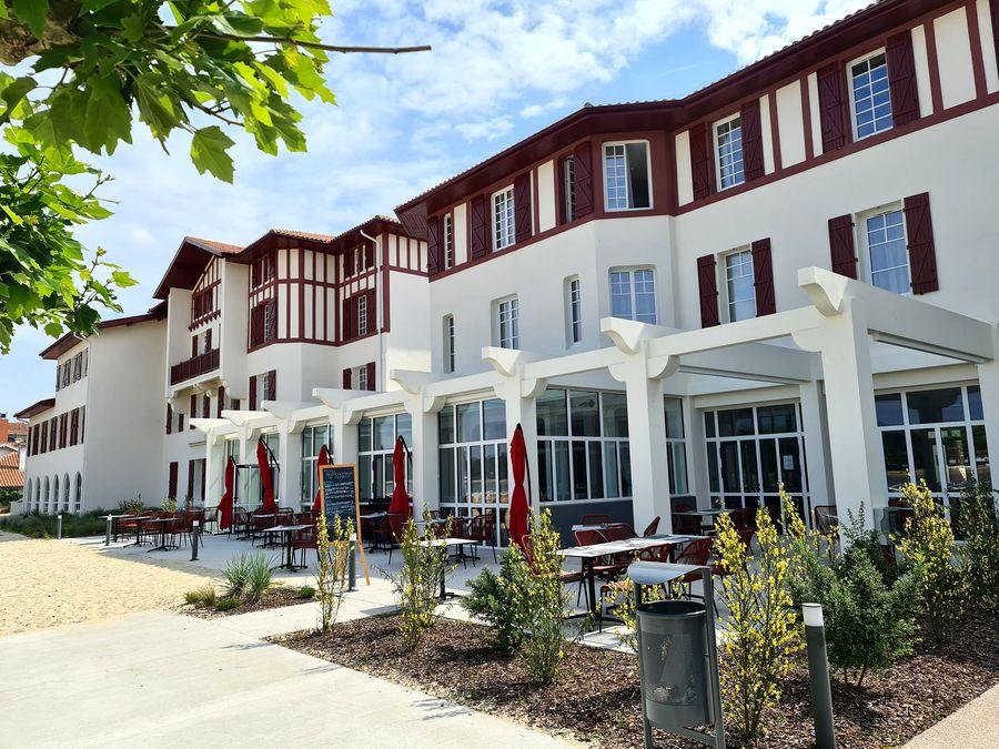 hôtel du parc hossegor boiseries bordeaux