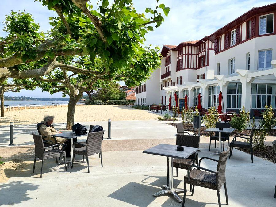 Hôtel du parc terrasse lac hossegor