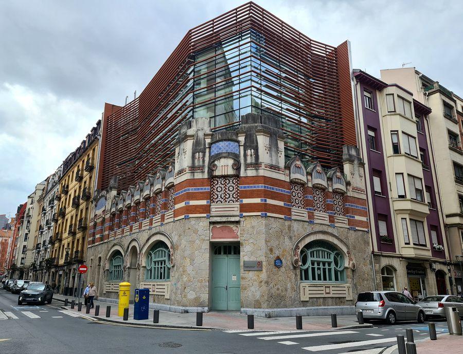 ancien lavoir de Castanos Moderniste Bilbao