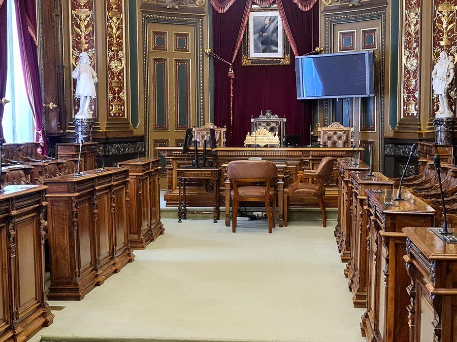 salle du conseil Mairie de Bilbao