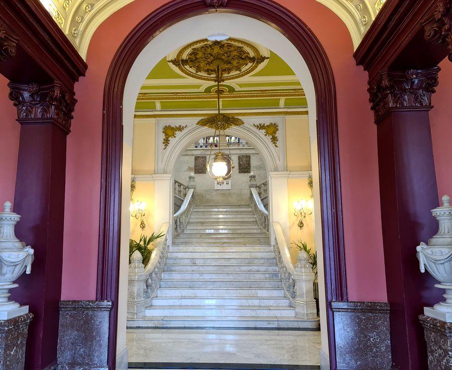 escalier Mairie de Bilbao