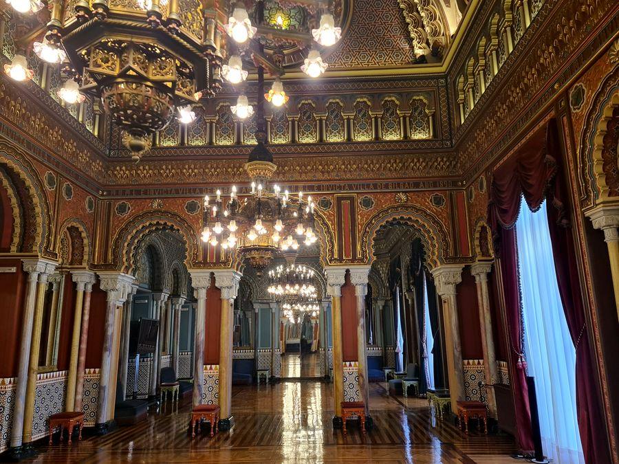 enfilade salon maure mairie de Bilbao